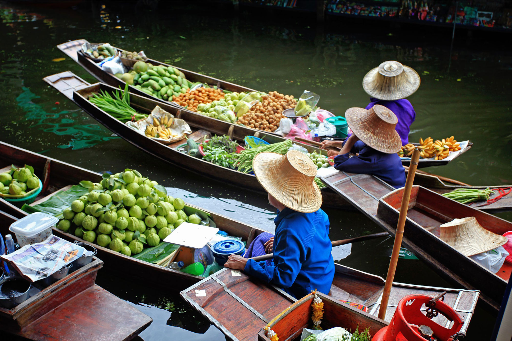 Floating Market and Rose Garden ( HH14 )